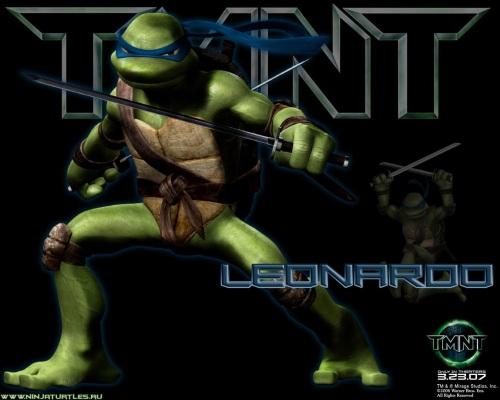 TMNT movie-leonardo 1!